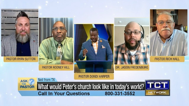 """""""What would Peter's church look like in today's world?""""   Ask the Pastor"""
