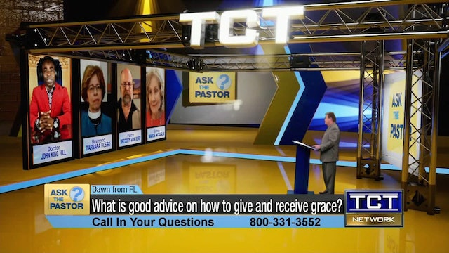 """""""What is good advice on how to give and receive grace?"""" 