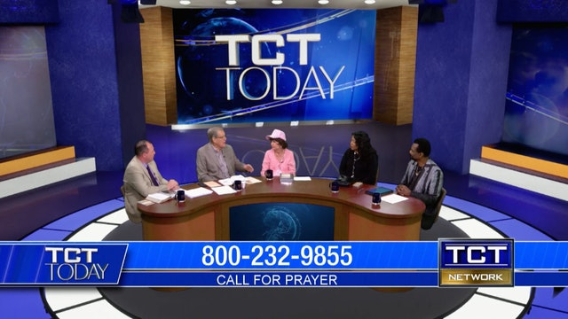 Drs. Garth and Tina Coonce, Tom Nolan and Dr. Lonnie & Frances Brown   TCT Today