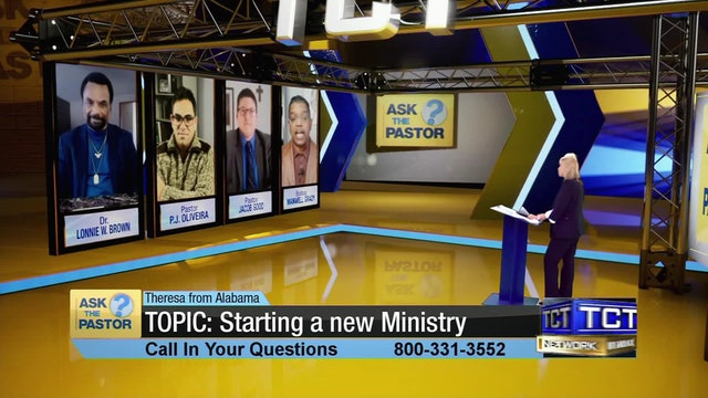 """TOPIC: Starting a new Ministry"" 