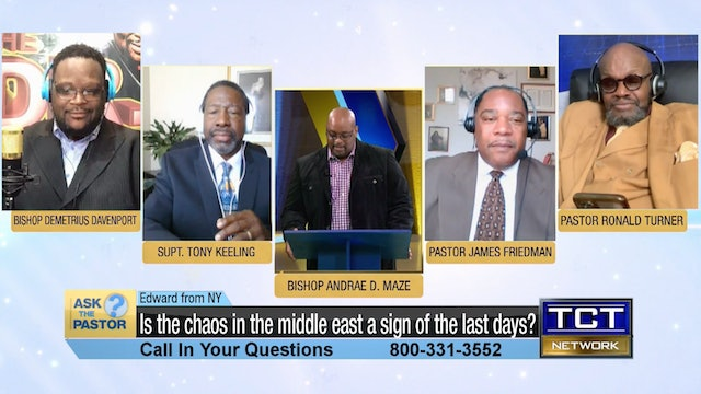 """""""Is the chaos in the middle east a sign of the last days?"""" 