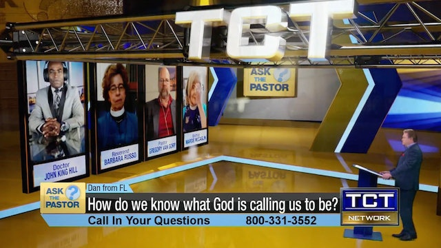 """""""How do we know what God is calling us to be?"""" 