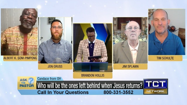 """""""Who will be the ones left behind when Jesus returns?"""" 