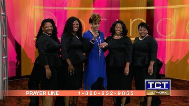 """Glanda Jackson, Anointed Mims Singer..."