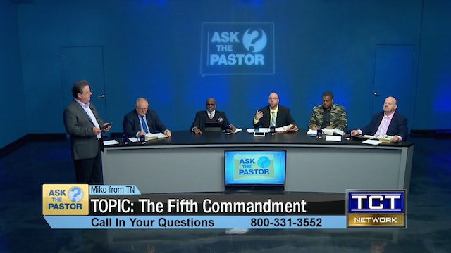 Topic: The Fifth Commandment | Ask the Pastor