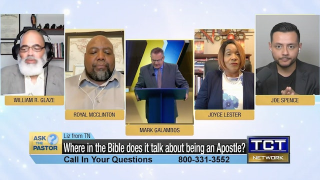 """""""Where in the Bible does it talk about being an Apostle?"""" 