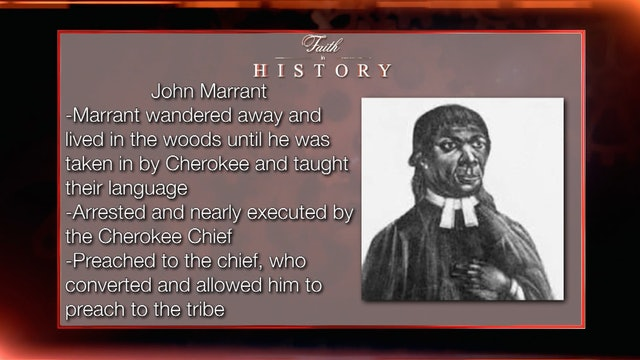"""Early Black Preachers"" 