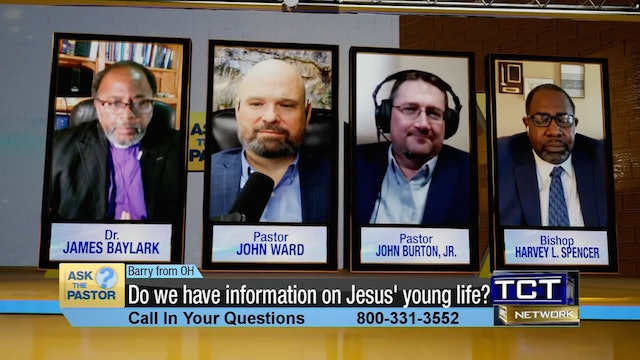 """""""Do we have information on Jesus' young life?"""" 