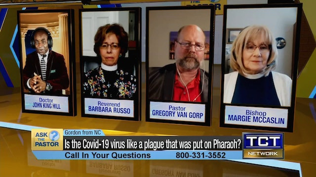"""""""Is the Covid-19 virus like a plague that was put on Pharaoh?"""" 
