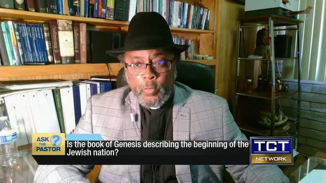 """Is the book of Genesis the beginning..."