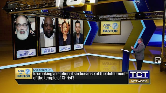 """Is smoking a continual sin?"" 