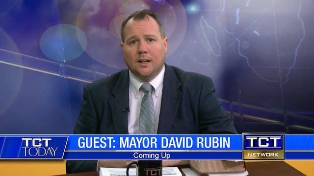 Former Israeli Mayor David Rubin | TC...