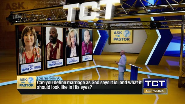 """""""Can you define marriage as God says ..."""