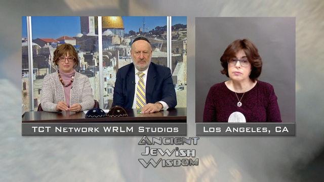 The Skeptic & The Rabbi (Skype-Judy Gruen) | Ancient Jewish Wisdom