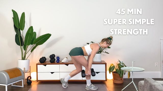 45 Min Groundworks: Simple strength