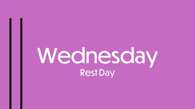 WEDNESDAY: Do something fun day!