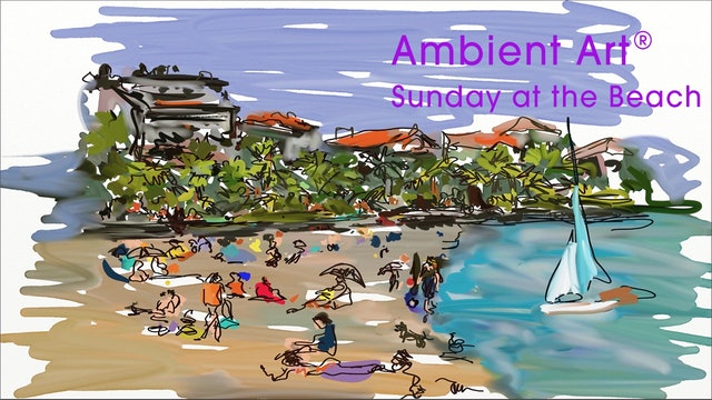 AmbientArt® Sunday at the Beach