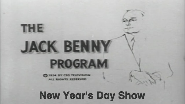 "Jack Benny Show ""New Year's Day Show"""