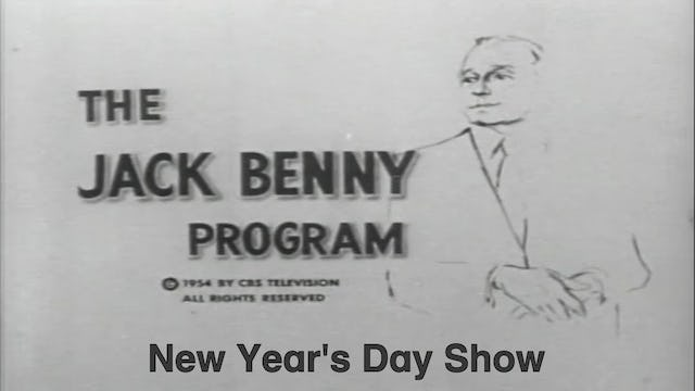 """Jack Benny Show """"New Year's Day Show"""""""