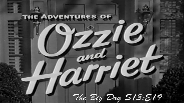 "Ozzie & Harriet ""The Big Dog"""