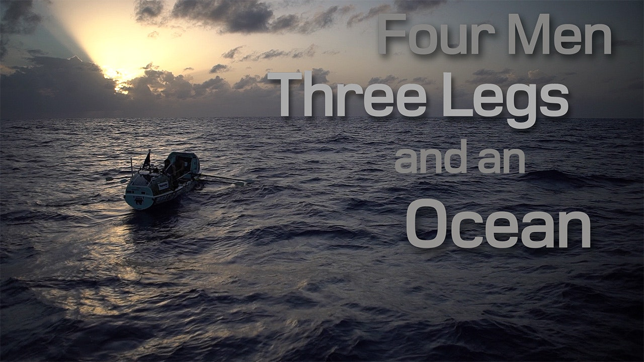 Four Men, Three Legs, and an Ocean