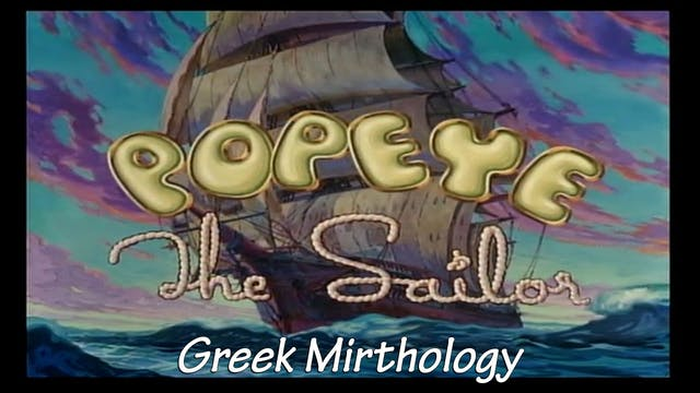 "Popeye the Sailor Man: ""Greek Mirthol..."