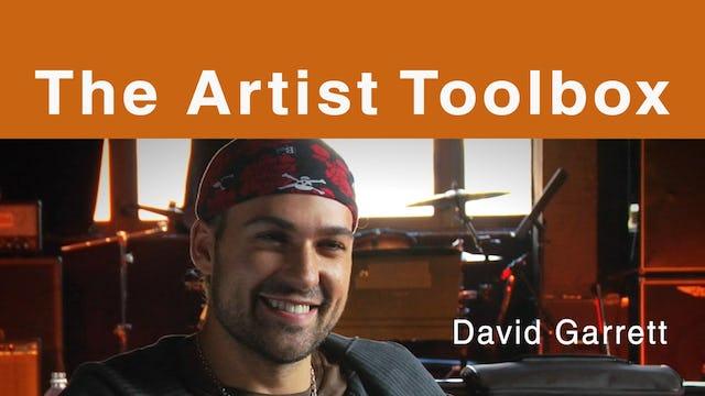The Artist Toolbox - David Garrett