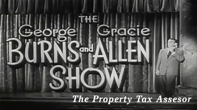 The George Burns and Gracie Allen Show - The Property Tax Assessor