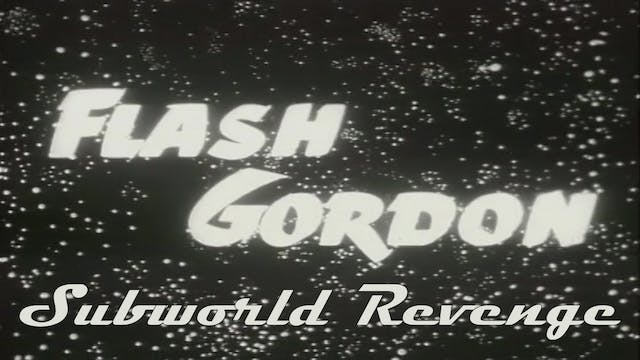 "Flash Gordon ""Subworld Revenge"""