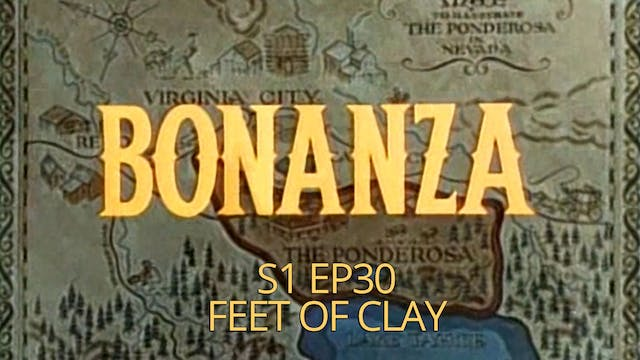 Bonanza: Season 1, Episode 30 - Feet ...