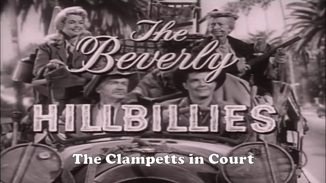 "Beverly Hillbillies ""The Clampetts in Court"""