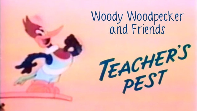 Woody Woodpecker and Friends: Teacher's Pest