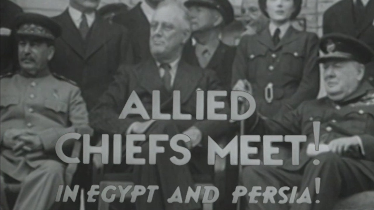 """Combat Camera: The Pacific- """"Allied Cheefs Meet"""""""