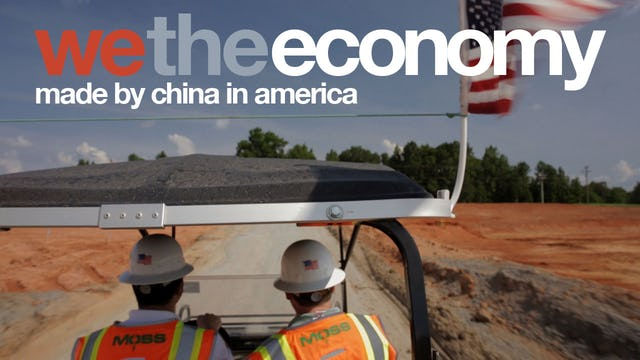 We The Economy: Made by China in America