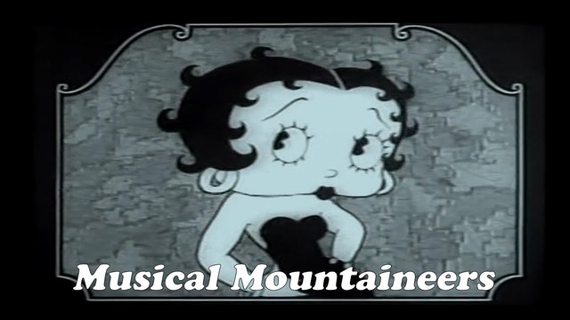 "Betty Boop ""Musical Mountaineers"""