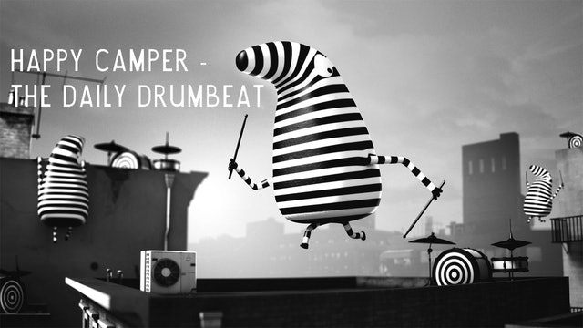 Happy Camper- Daily Drumbeat