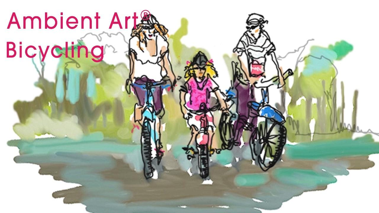 AmbientArt® Bicycling