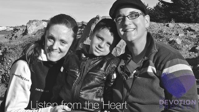 The Devotion Project: Listen from the Heart