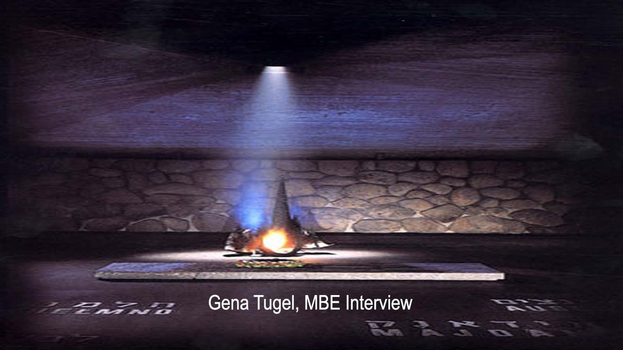 Gena Turgel, MBE Interview