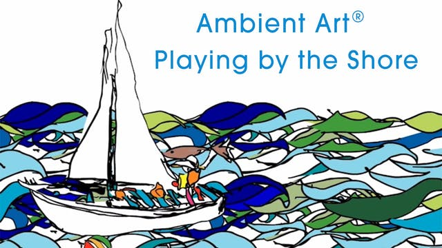 AmbientArt® Playing by the Shore