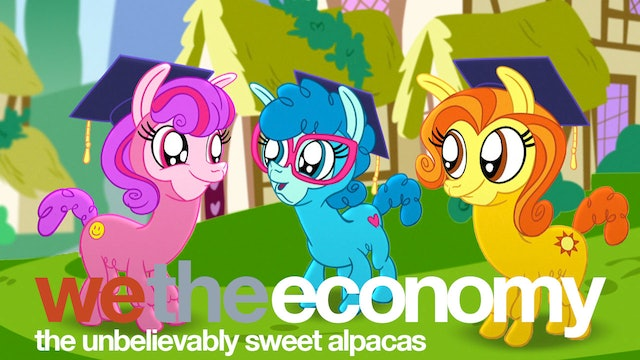 We The Economy: The Unbelievably Sweet Alpacas