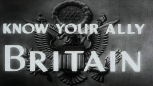 "Colors of War: Europe- ""Know Your Ally- Britain"""
