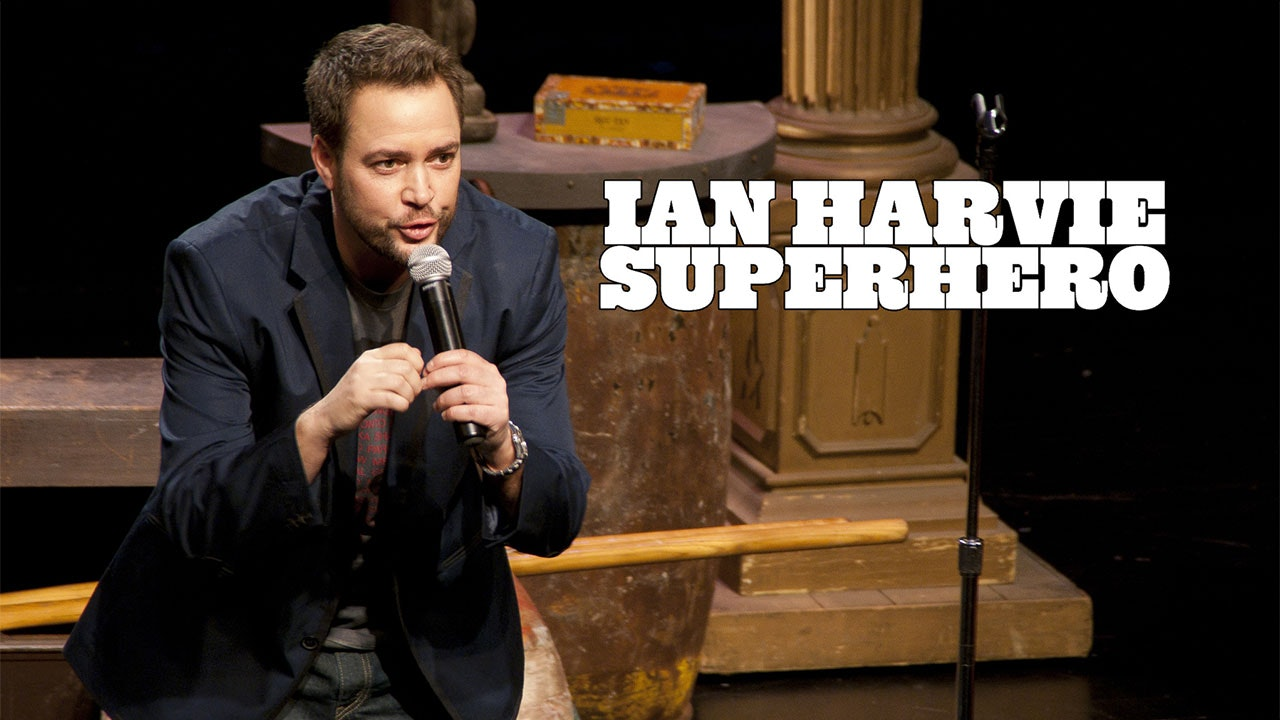 Ian Harvie Superhero