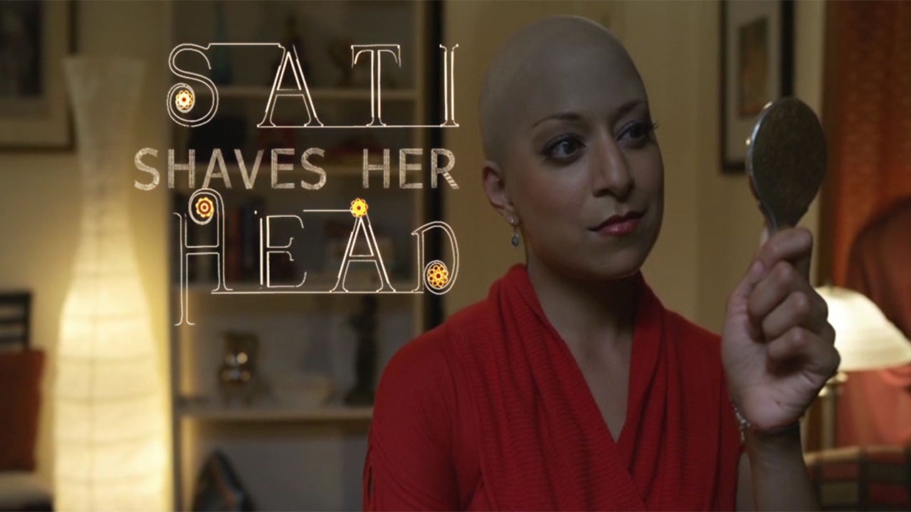 Sati Shaves Her Head