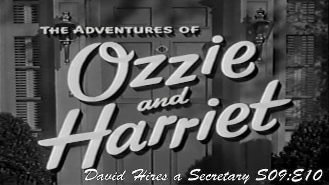 """Ozzie & Harriet """"David Hires a Secret..."""