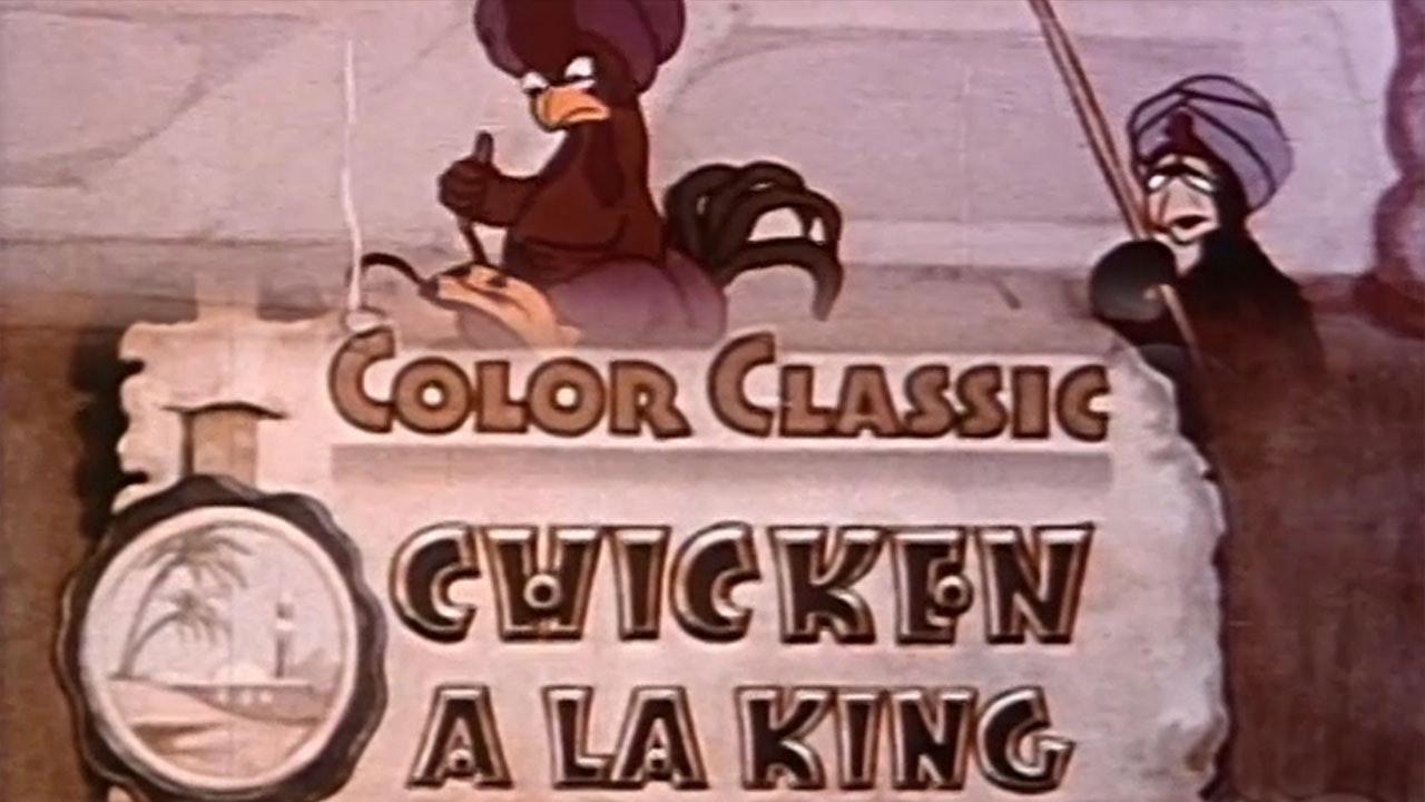 Cartoon Crazies: Chicken a la King