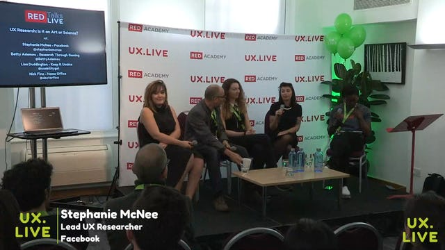 LIVE PANEL (REDTalks) - UX Research