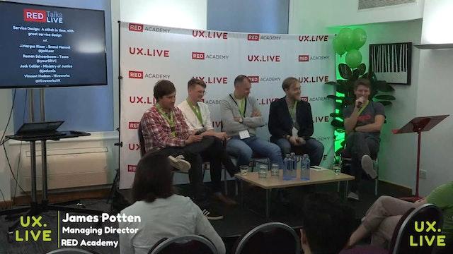 LIVE PANEL (REDTalks) - Service Design