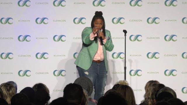LIVE from CLEXACON: Kia Barnes Comedy...