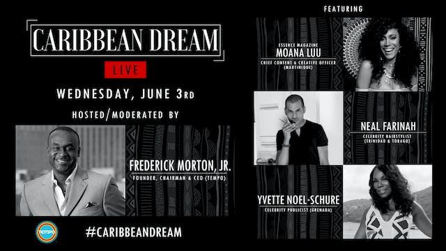 Caribbean Dream Live   June 3rd w/ Yv...